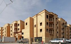 Jordan Station Apartments Framing