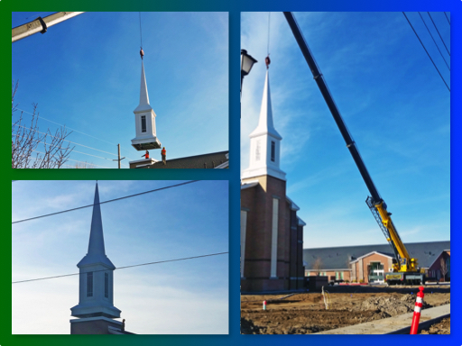 Northlake Steeple Placement