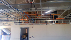 Lakeside Ductwork and Ceiling Grid