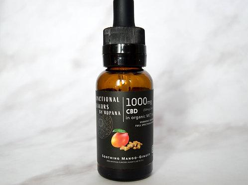 Soothing Mango-Ginger 1000mg Full Spectrum CBD Oil