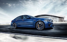 2019-BMW-M5-blue-color-side-view-FHD-wal