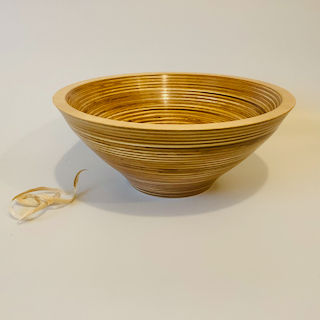 Banded Birch Bowl