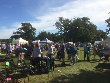 Sunny event in Suffolk