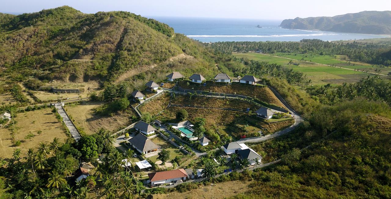 Mawun Raya resort - Drone view- 27 aug 17 -2 copie