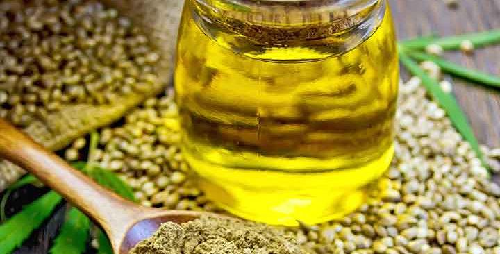 Organic Virgin Hemp Seed oil (coldpressed) 100ml
