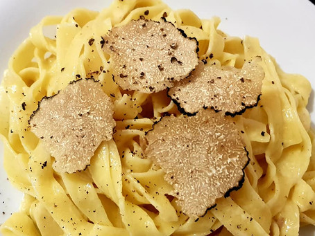 Pasta with Black Truffles
