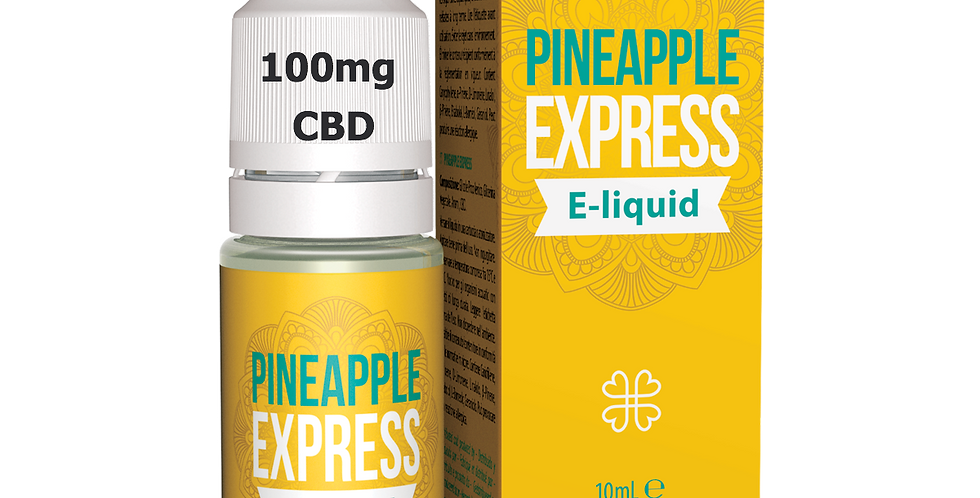 PINEAPPLE EXPRESS  CBD E-LIQUID with 100mg CBD