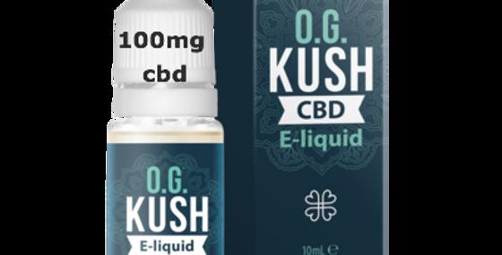 O.G. KUSH CBD E-LIQUID with 100mg CBD