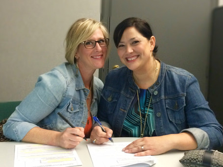 Signing our business into creation!