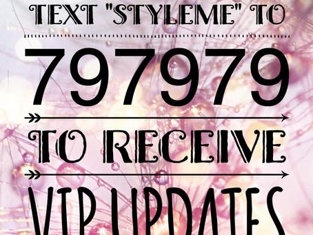 VIP Updates
