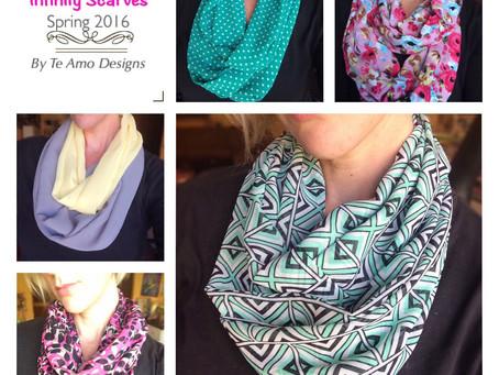 Te Amo Designs Infinity Scarves