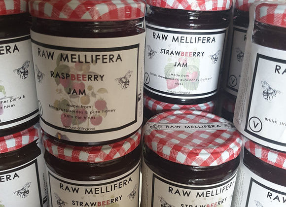 StrawBeerry - Honey and British strawberries jam - 200gr