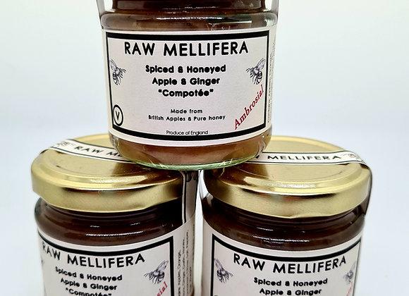 "Spiced & Honeyed Apple and Ginger ""compotée "" -100gr-"
