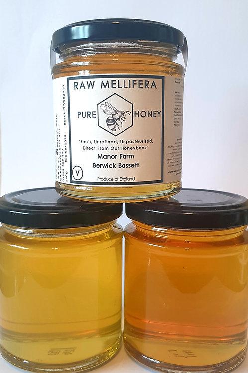Summer Honey - Manor Farm Apiary - Berwick Bassett - 240gr