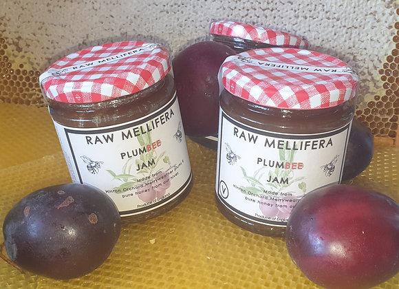 Plumbee - Home grown Merryweather plums & pure honey jam - 200gr
