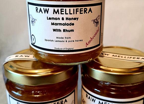 Lemon, Honey and White Rhum Marmalade - 120gr-