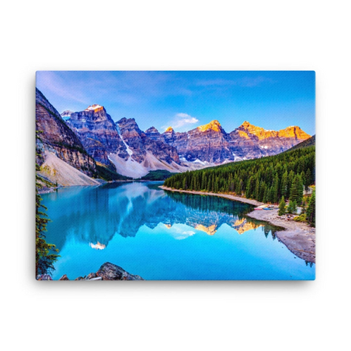 Bleu Mountains   Landscape canva