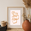 Thumbnail: Nude Lines Wall Art - Framed Wall Art