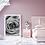 Thumbnail: Black and White Rose Framed Wall Art