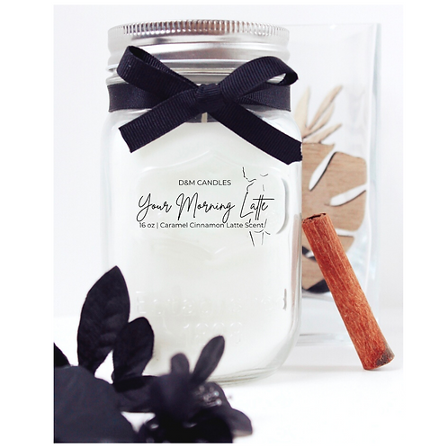 16 oz Candle - Your Morning Latte
