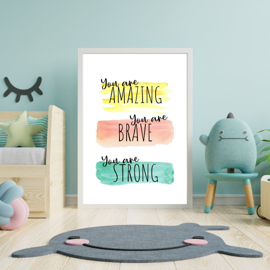 Your Amazing Brave Strong