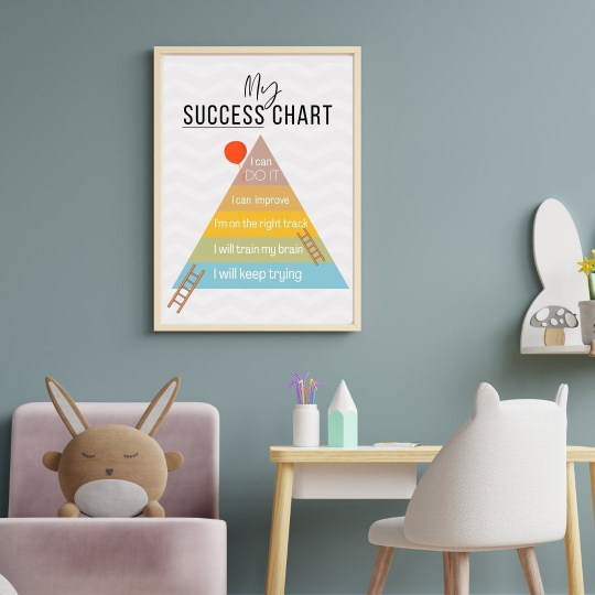 My Success Chart   Framed Wall Print
