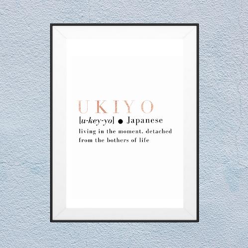 Definiton of Ukiyo