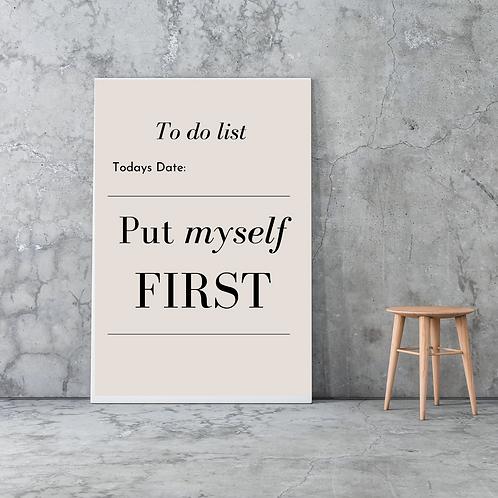 Custom To Do List Canvas