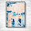 Thumbnail: Bleu Painting Abstract