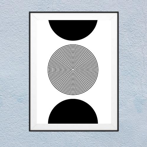 Half Circle | Framed Wall Art