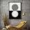 Thumbnail: 2 Circle Boho Abstract   Framed Wall Art