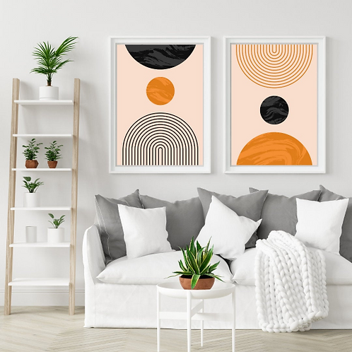 Your Set of Two Boho Wall Frame