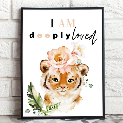 You Are Deeply Love   Framed Wall Print