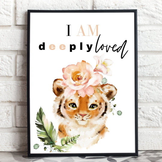 You Are Deeply Love | Framed Wall Print