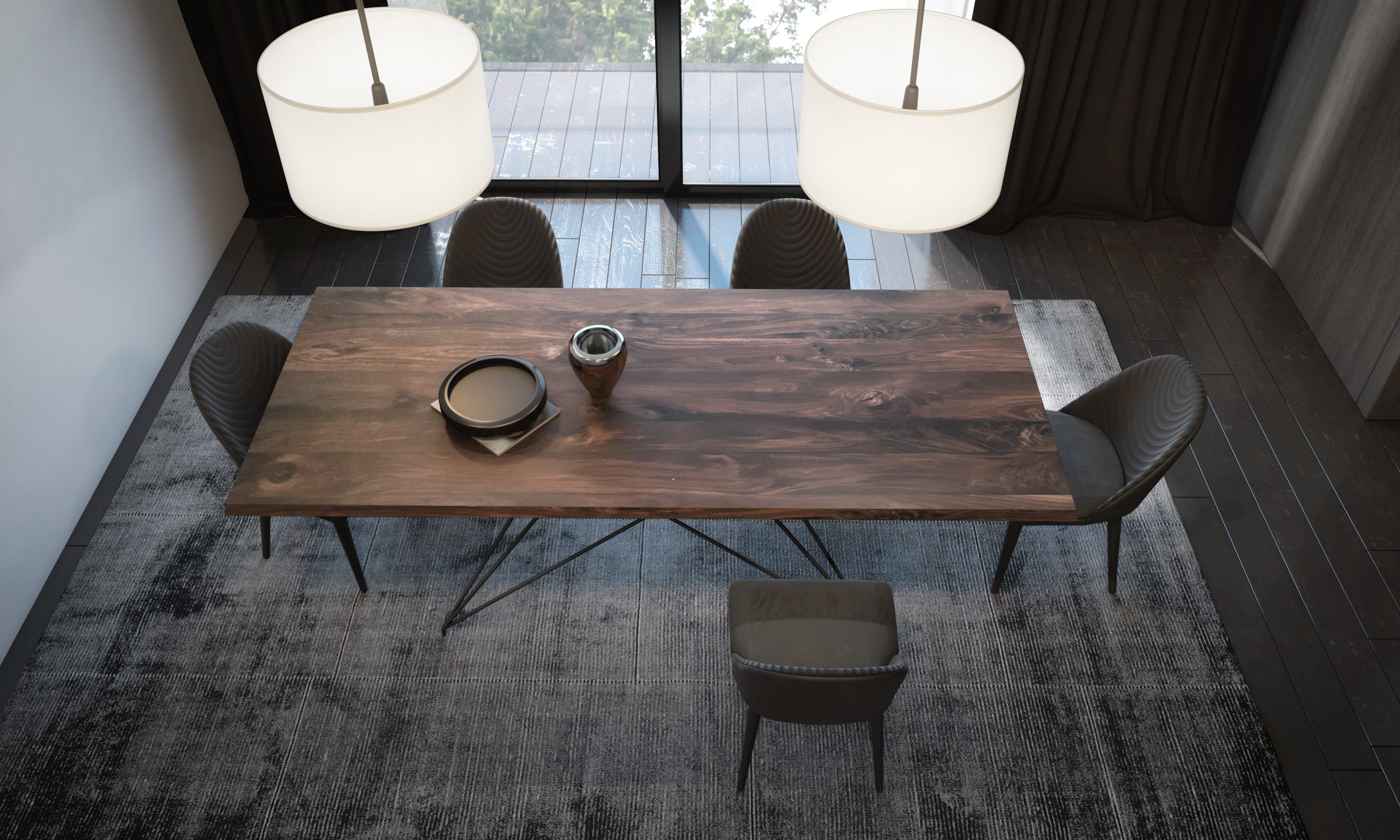 MIKADO TABLE + CINDY CHAIR