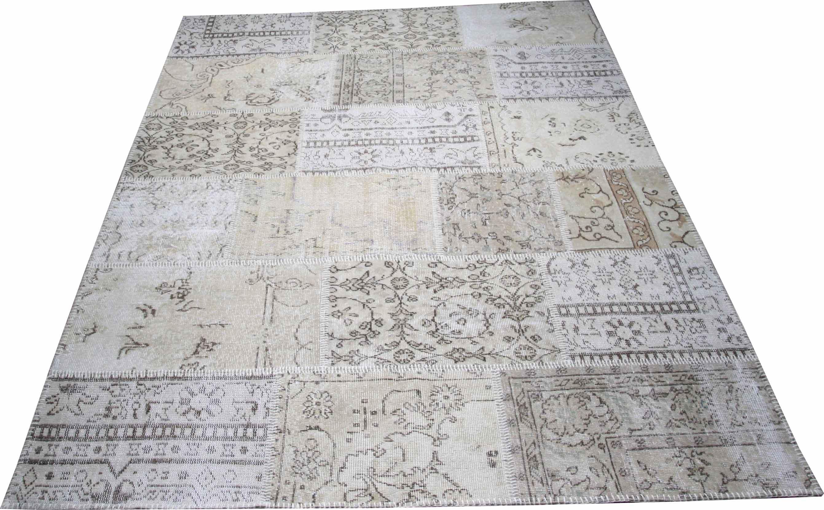 KILIM vintage patchwork beige