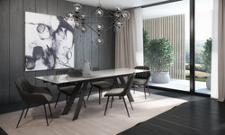 OLIVER TABLE AND ELENA CHAIRS