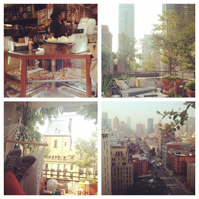 Good morning, New York City - I forgot how much I loved it here! 😍😎🗽#newyork #usa #worktraveldiaries #ilovemyjob #interviews #reporter #city
