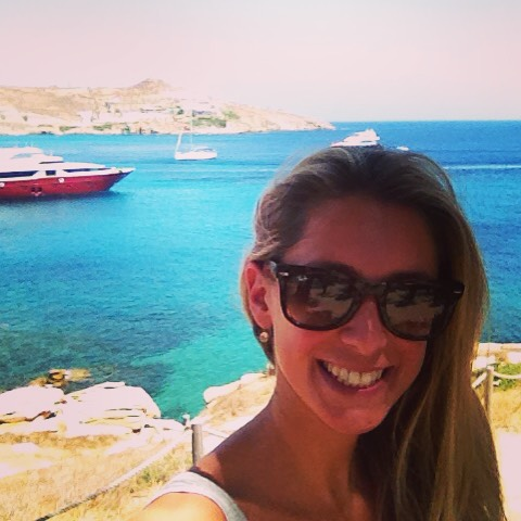 I love my job! Greetings from #mykonos #travel #work #reporter #worktraveldiaries #citytrip #greece