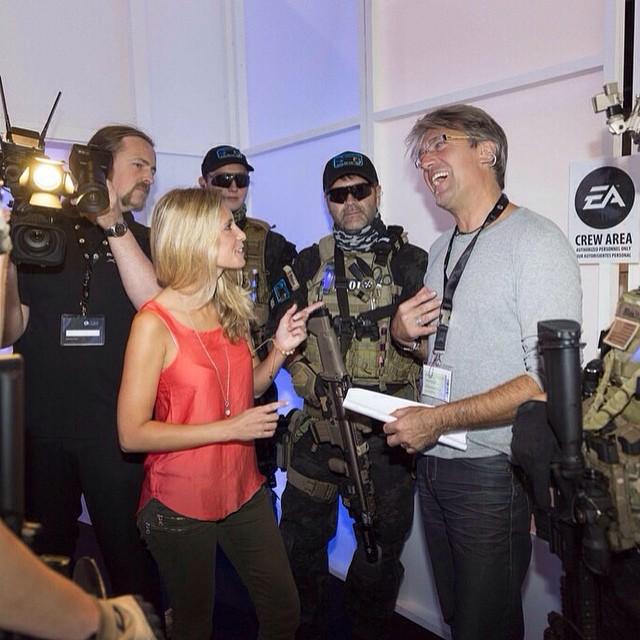 Lagebesprechung #gamescom #EA