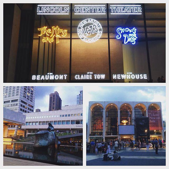No visit without broadway! #thekingandi #theater #broadway #metopera #summerfestival #openair #culture #music #nyc #usa