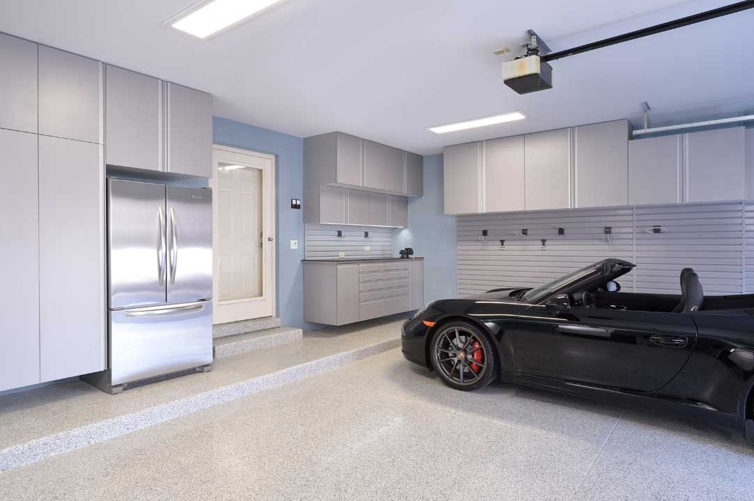 Silver Frost Garage Cabinets-Canton