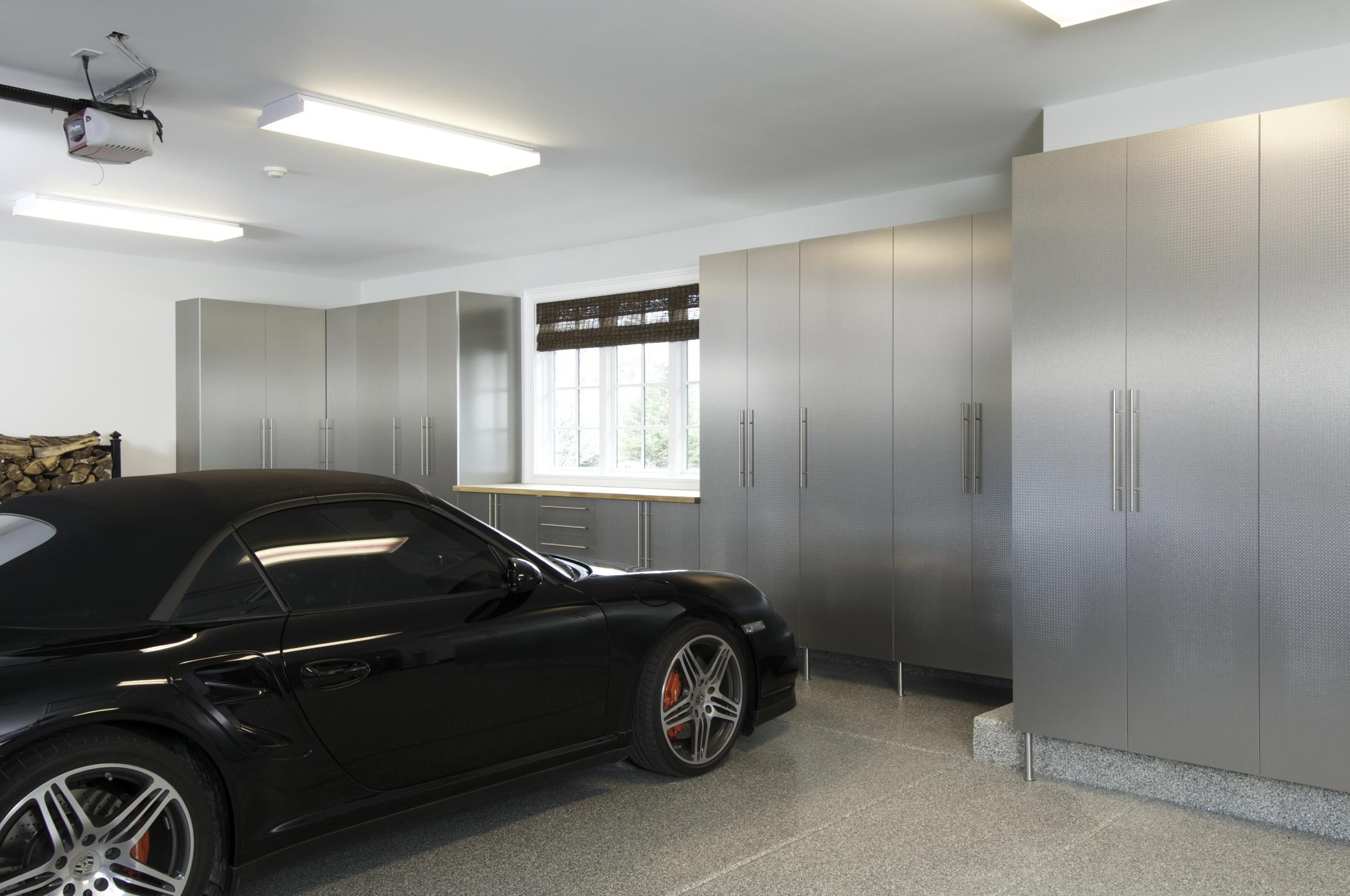 Stainless Premium Garage Cabinets