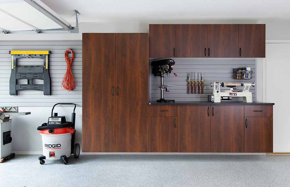 Work Space - Garage Cabinetry