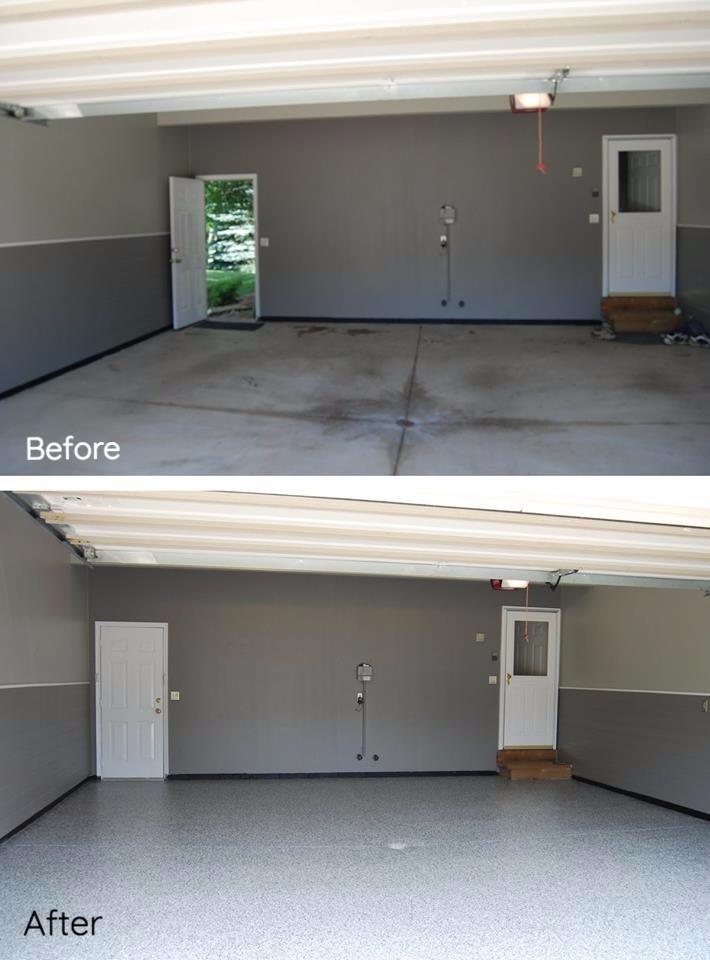 Strongsville, OH - Epoxy Flooring