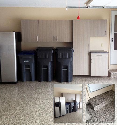 Solon, OH -Garage Cabinets & Flooring