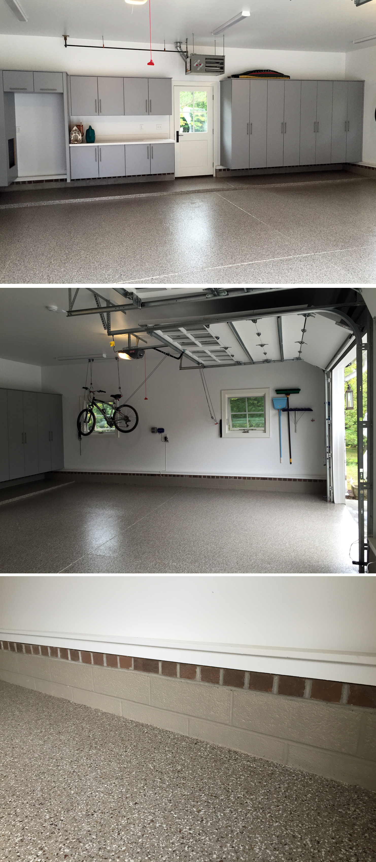 Hudson, OH - Garage Floor Coating