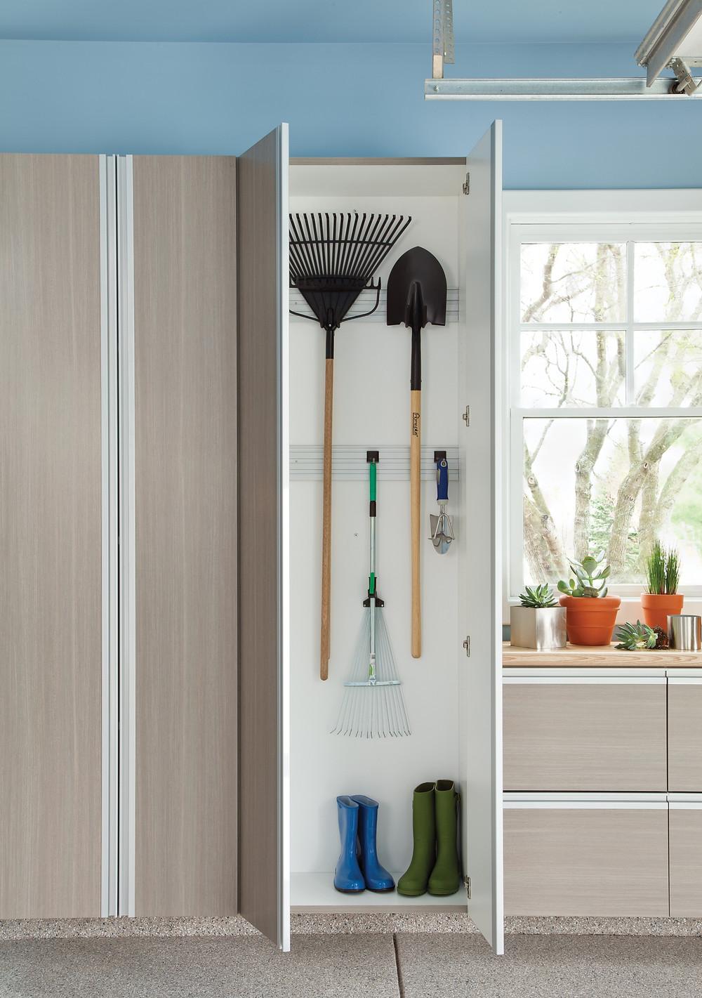 Long, Tall Thin Zone - Garage Storage Cabinets