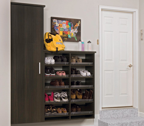 Functional Family Friendly Storage.