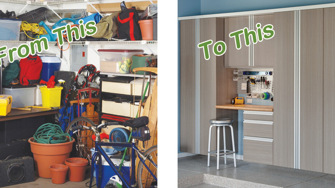 5 Steps: Clean & Organize Your Garage